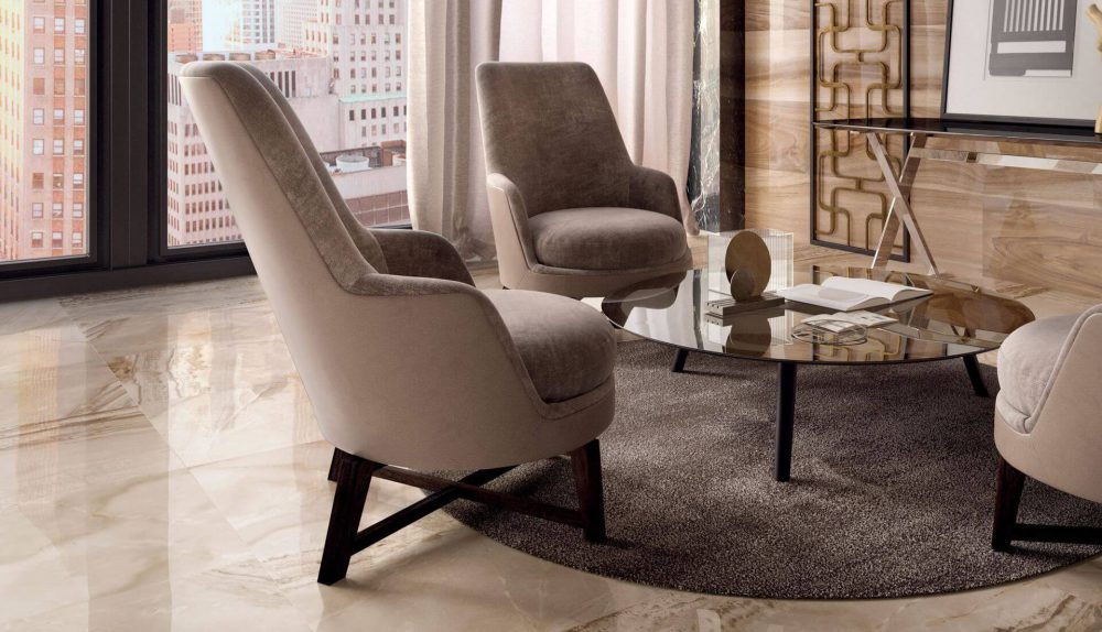 Flexform Guscioalto Soft Armchair