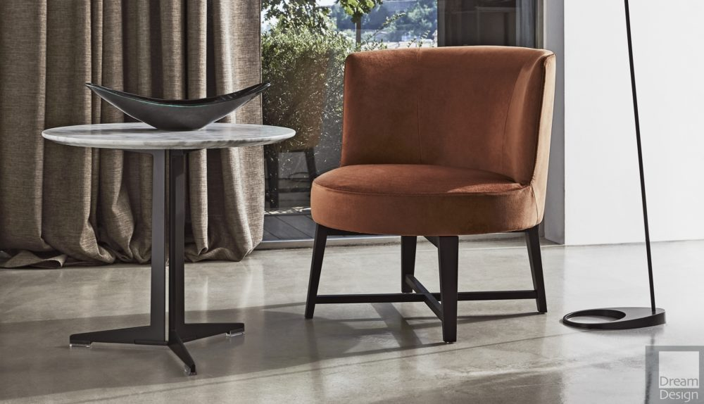 Flexform Hera Small Armchair