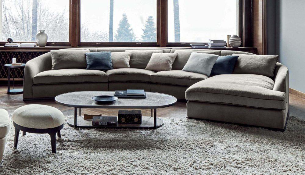 Flexform Mood Alfred Modular Sofa
