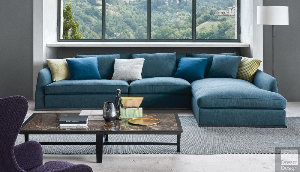 Flexform Mood Alfred Modular Sofa
