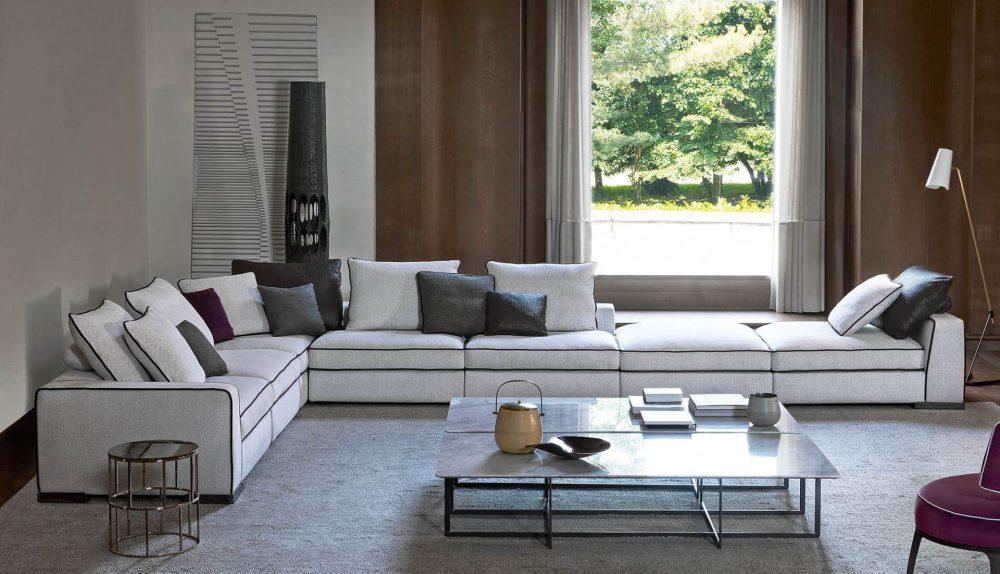 Flexform Mood Armand Modular Sofa