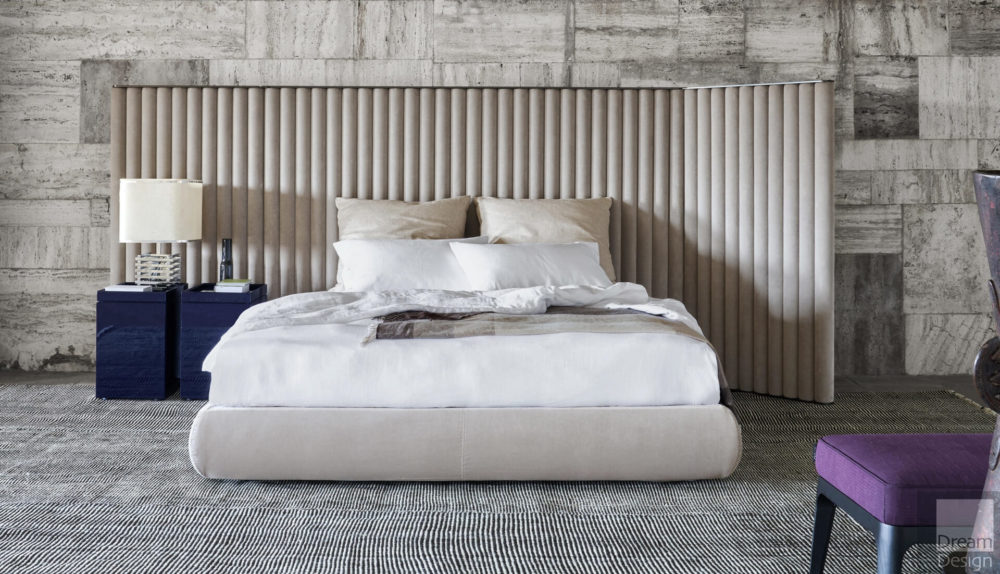 Flexform Mood Biarritz Bed