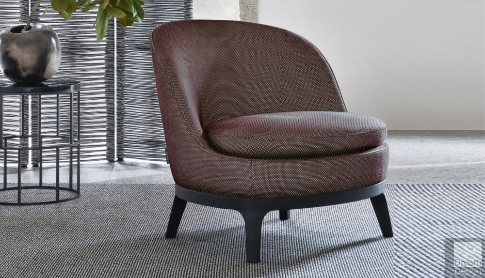 Flexform Mood Dragonfly Small Armchair