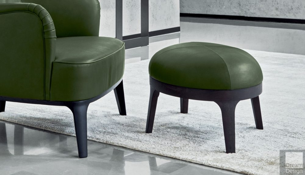 Flexform Mood Eaton Footstool