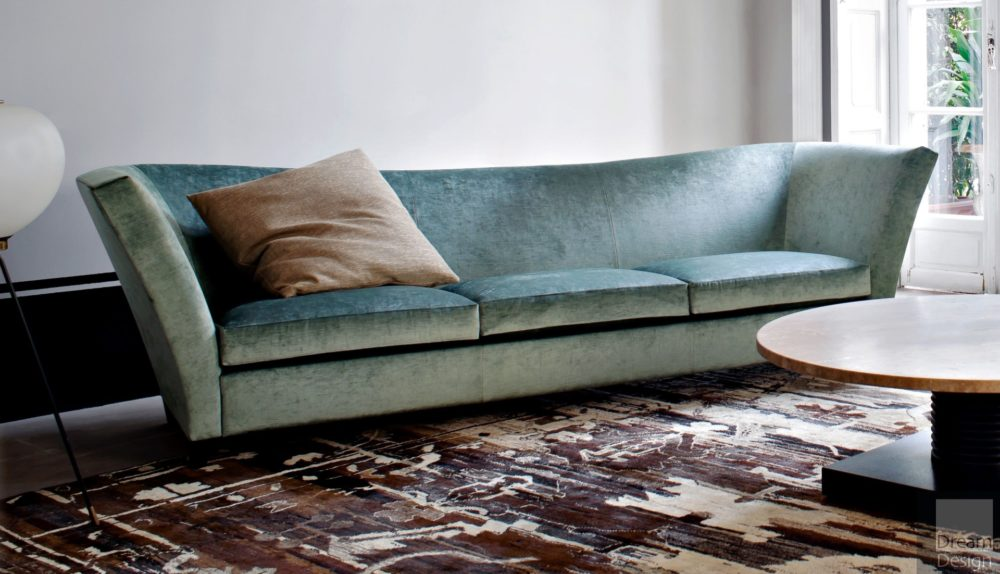 Flexform Mood Flight 3-Seater Sofa