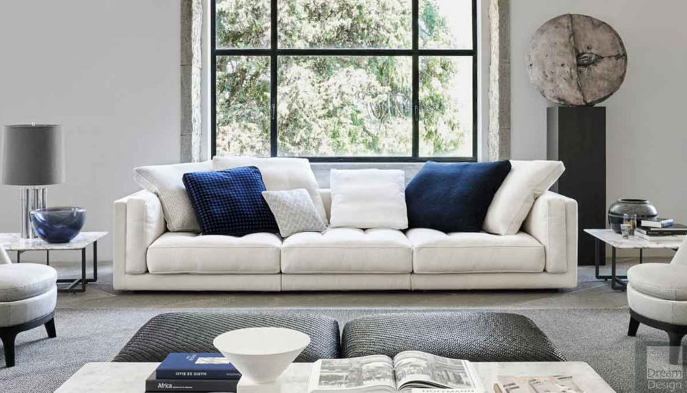 Flexform Mood Lucien Modular Sofa