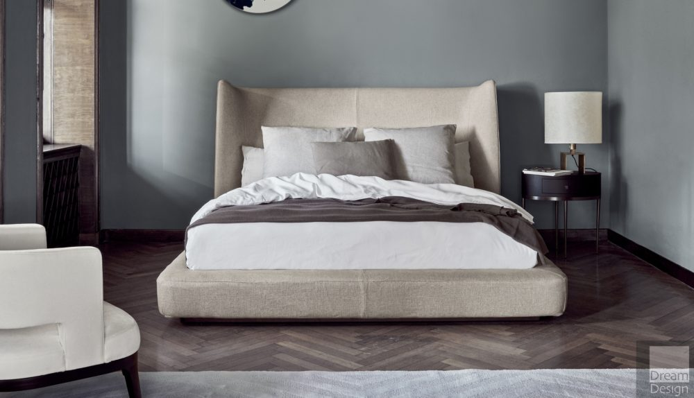 Flexform Mood Midnight Bed