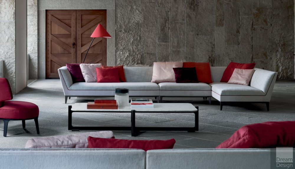 Flexform Mood Mr Wilde Modular Sofa