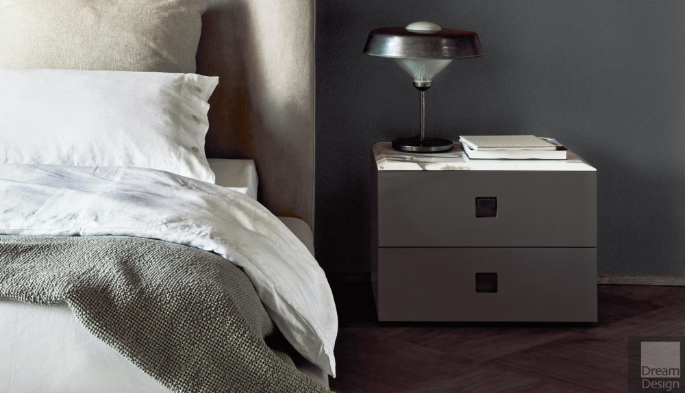 Flexform Mood Rafael Bedside Table