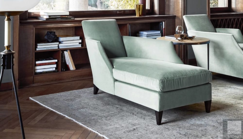 Flexform Mood Relax Chaise Longue