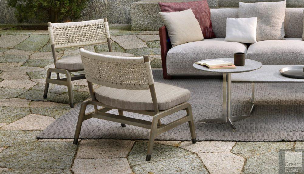 Flexform Ortigia Outdoor Armchair