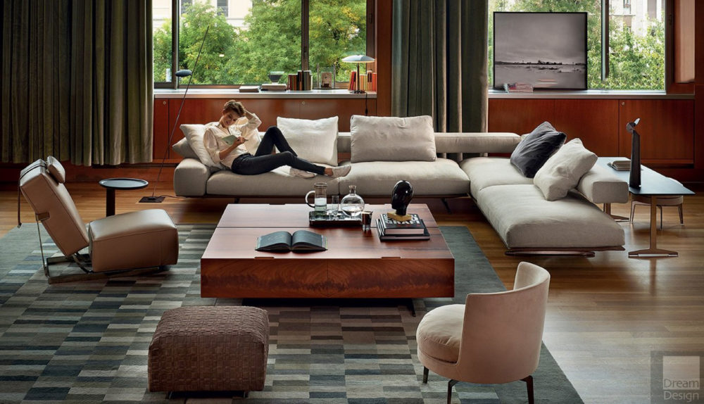 Flexform Wing Modular Sofa
