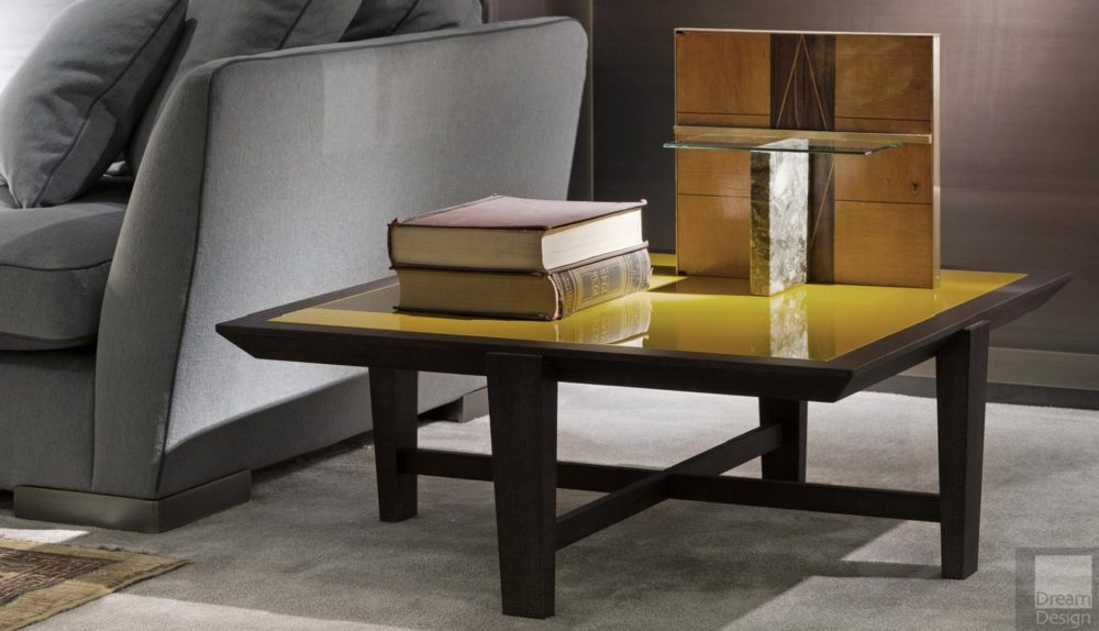 Flexform Mood Elliot Square Coffee Table
