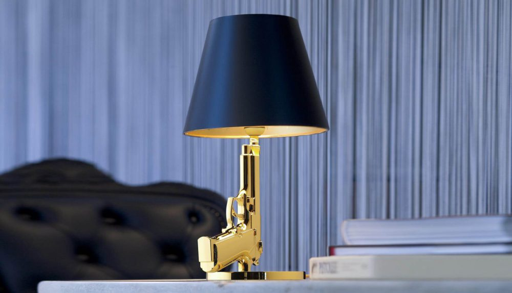Flos Bedside Guns Table Lamp