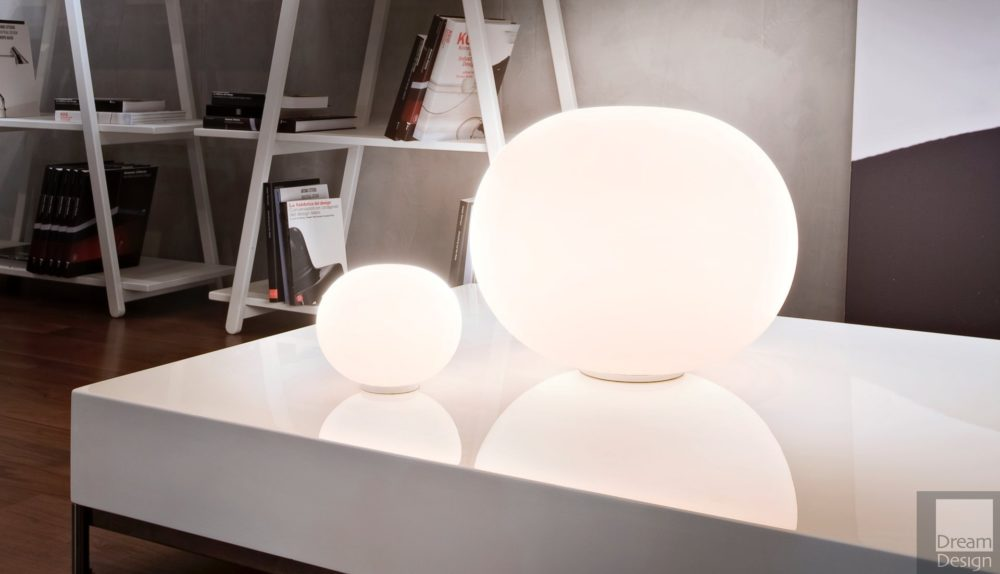 Flos Glo-Ball Basic Table Lamp