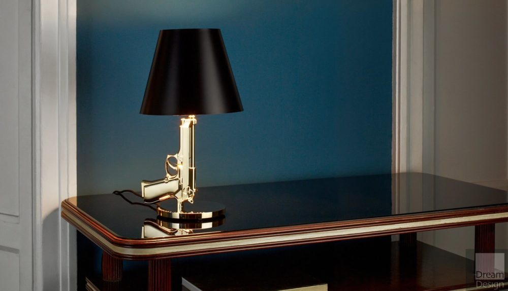 Flos Bedside Gun Table Lamp