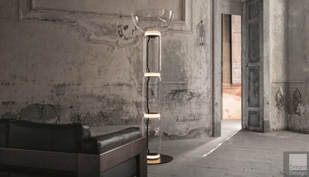 Flos Noctambule Floor Lamp Cylinders – Bowl