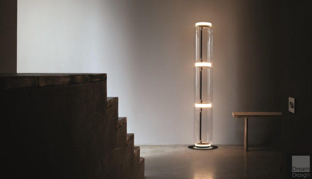 Flos Noctambule Floor Cylinder Lamp