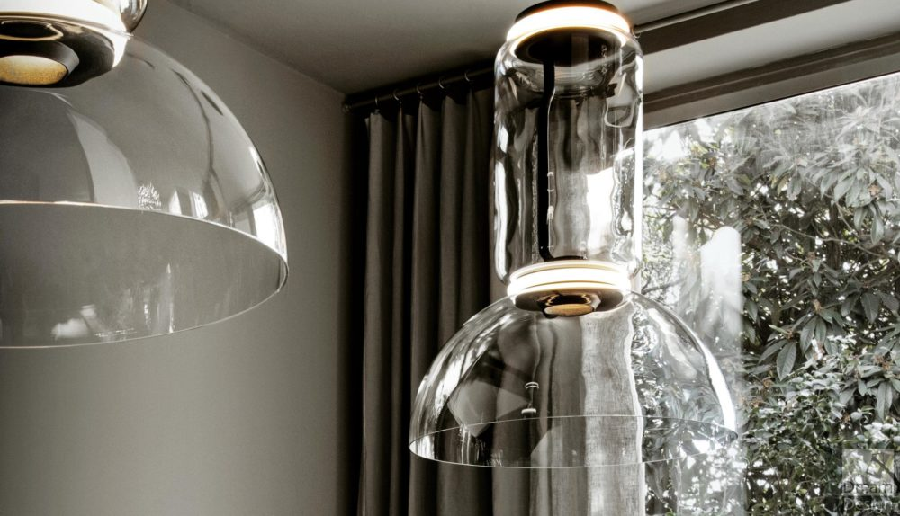 Flos Noctambule Suspension Cylinder Light – Bowl