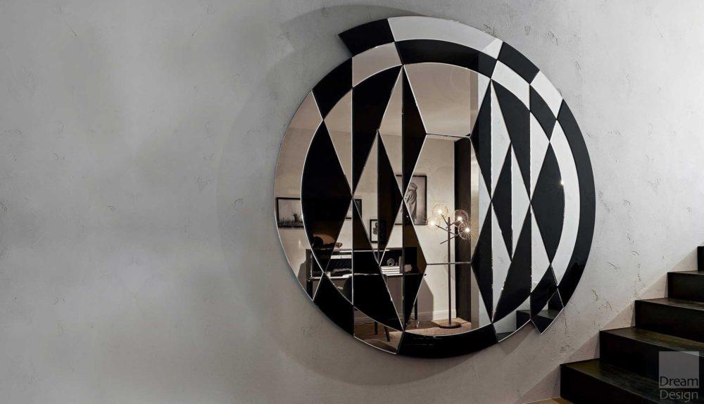 Gallotti & Radice Black&White Beat Mirror