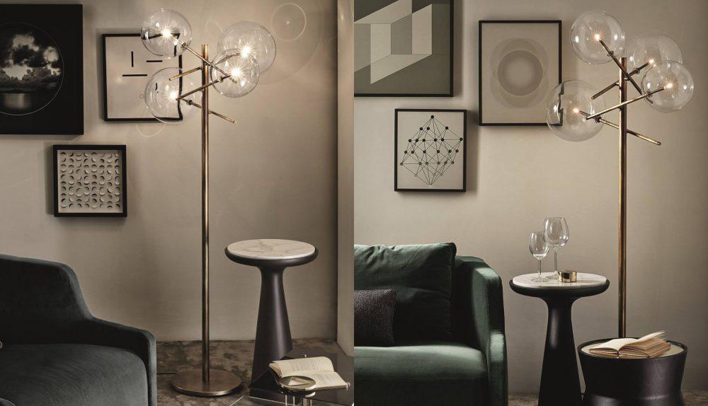 Gallotti & Radice Bolle Floor Lamp
