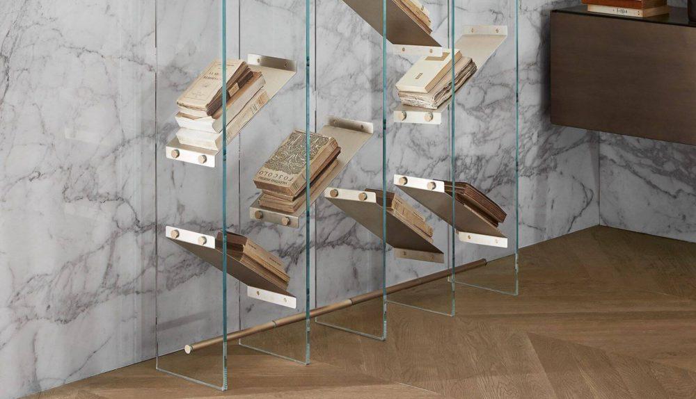 Gallotti&Radice Isola Book Shelving