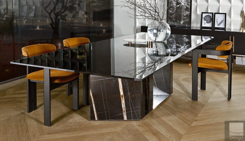 Gallotti & Radice Platium Rectangular Table