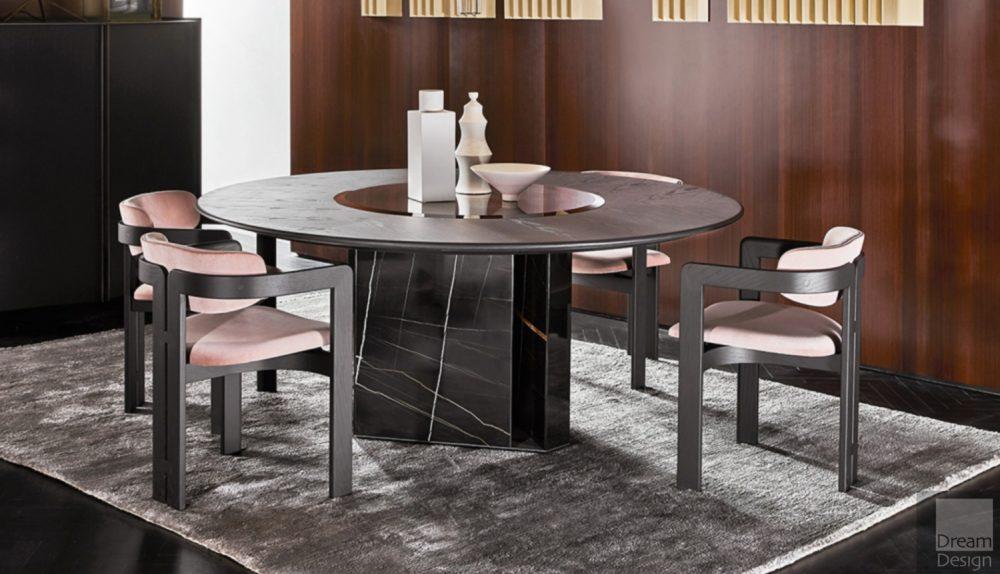 Gallotti & Radice Platium Round Table