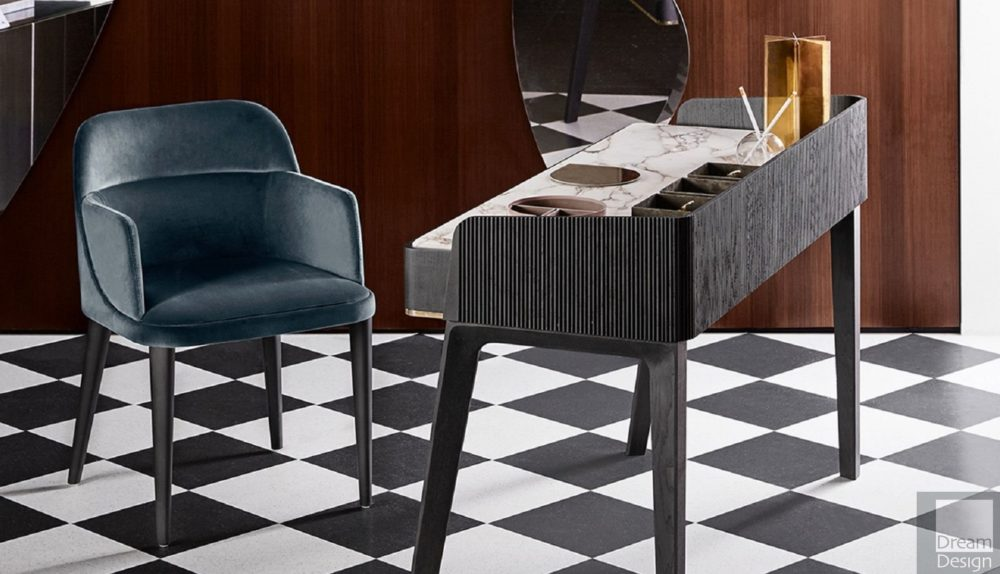 Gallotti & Radice Soho Vanity Desk