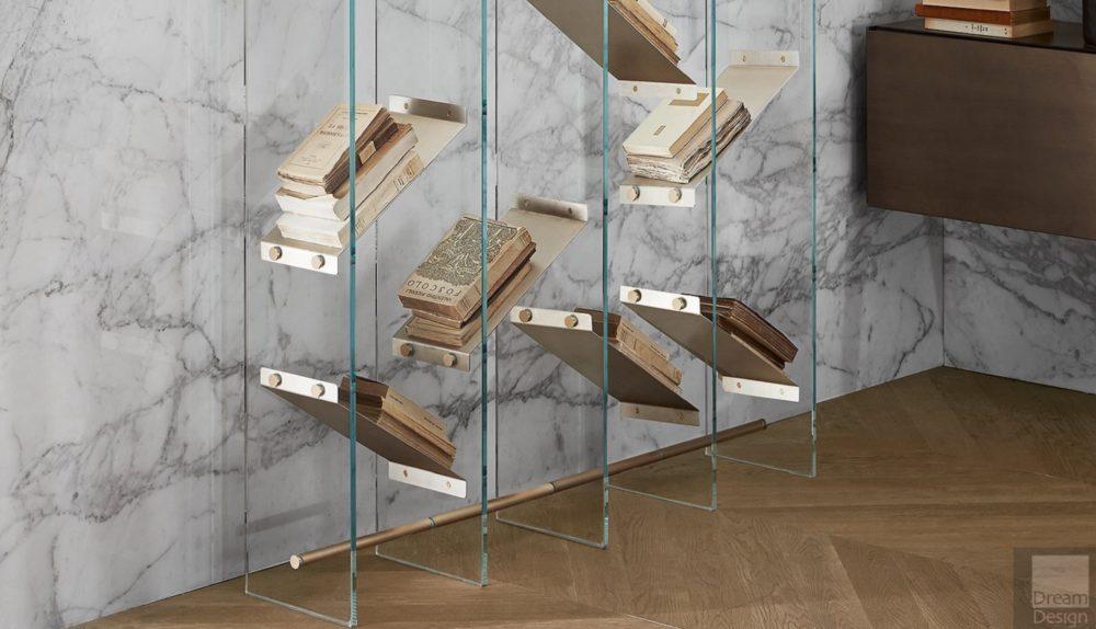 Gallotti & Radice Isola Book Shelving