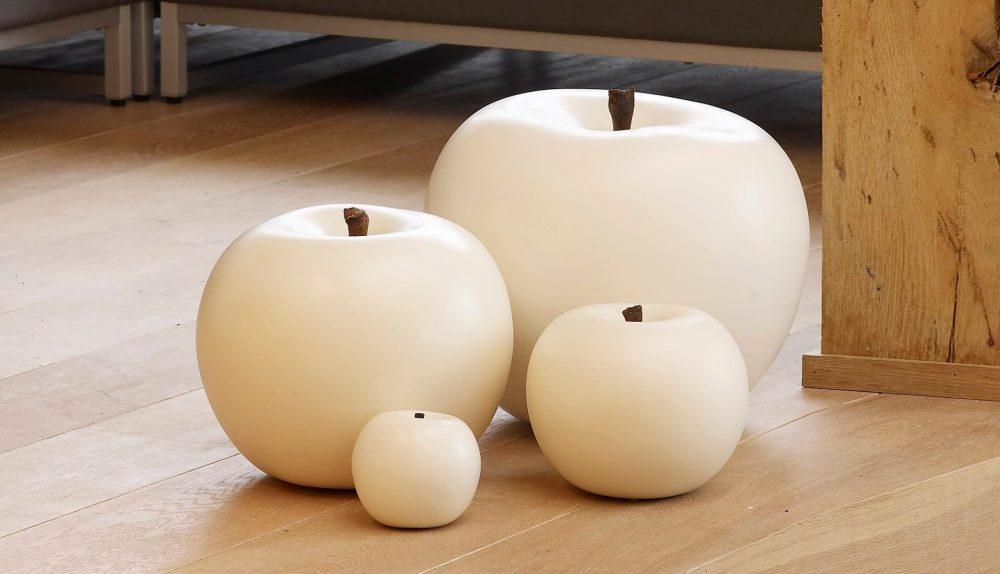 Gardeco Ceramic Apple Ornament