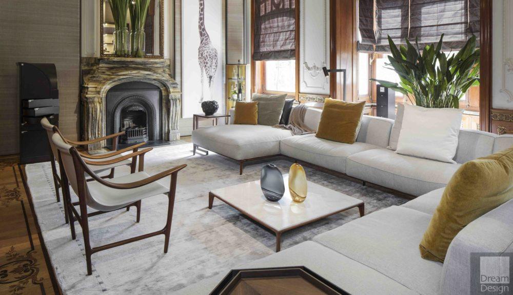 Giorgetti Aton Modular Sofa