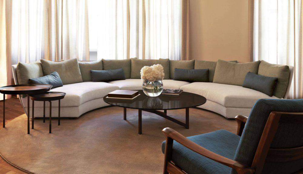 Giorgetti Dhow Curved Modular Sofa
