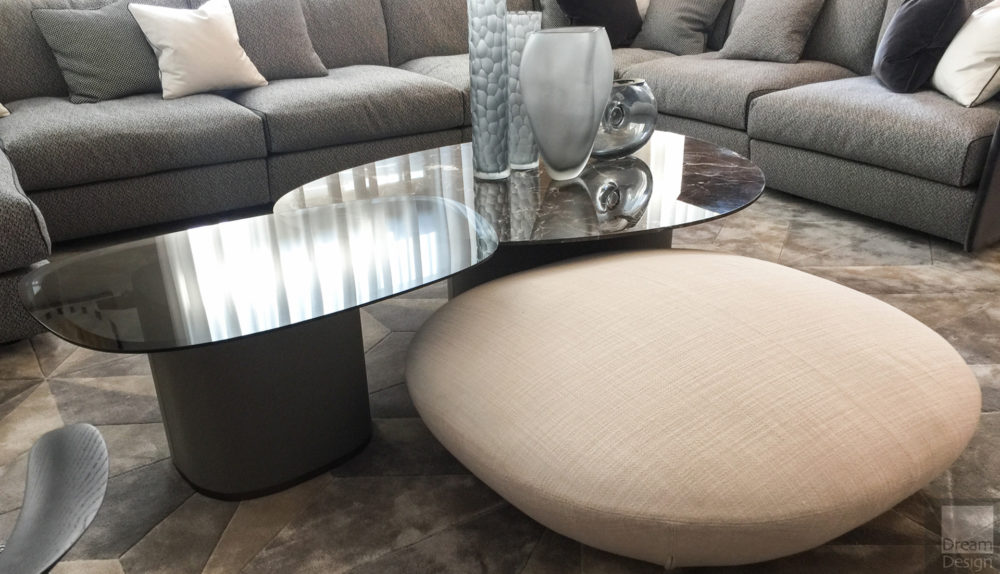 Giorgetti Galet Stool