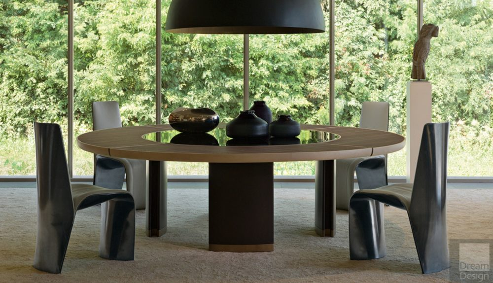 Giorgetti Gordon Lazy Susan Table