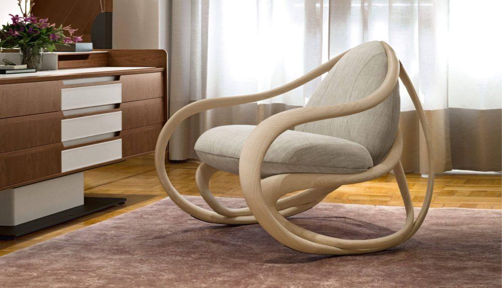 Giorgetti Move Rocking Chair