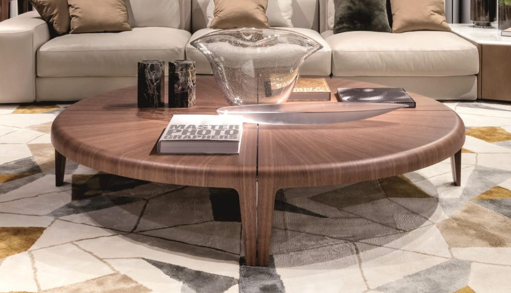 Giorgetti Round Coffee Table