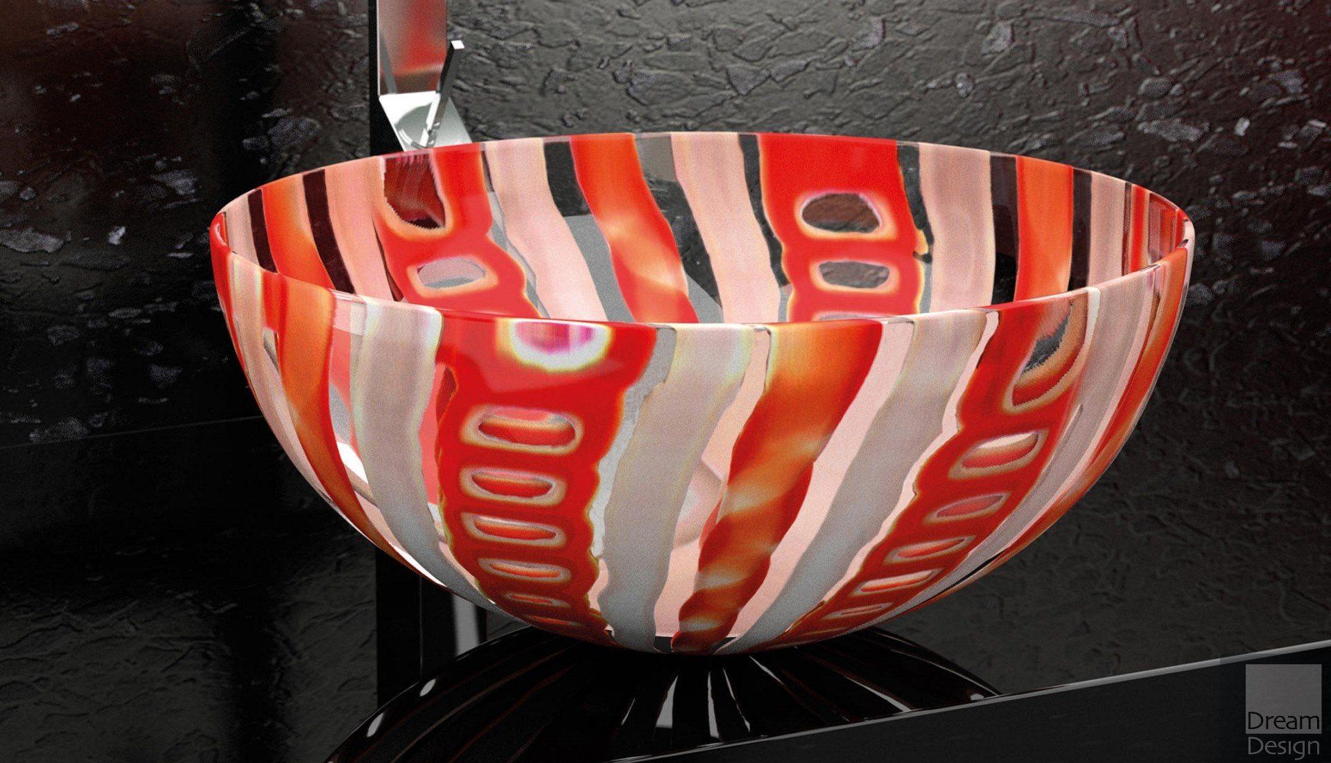 Glass Design Laguna Vintage Basin