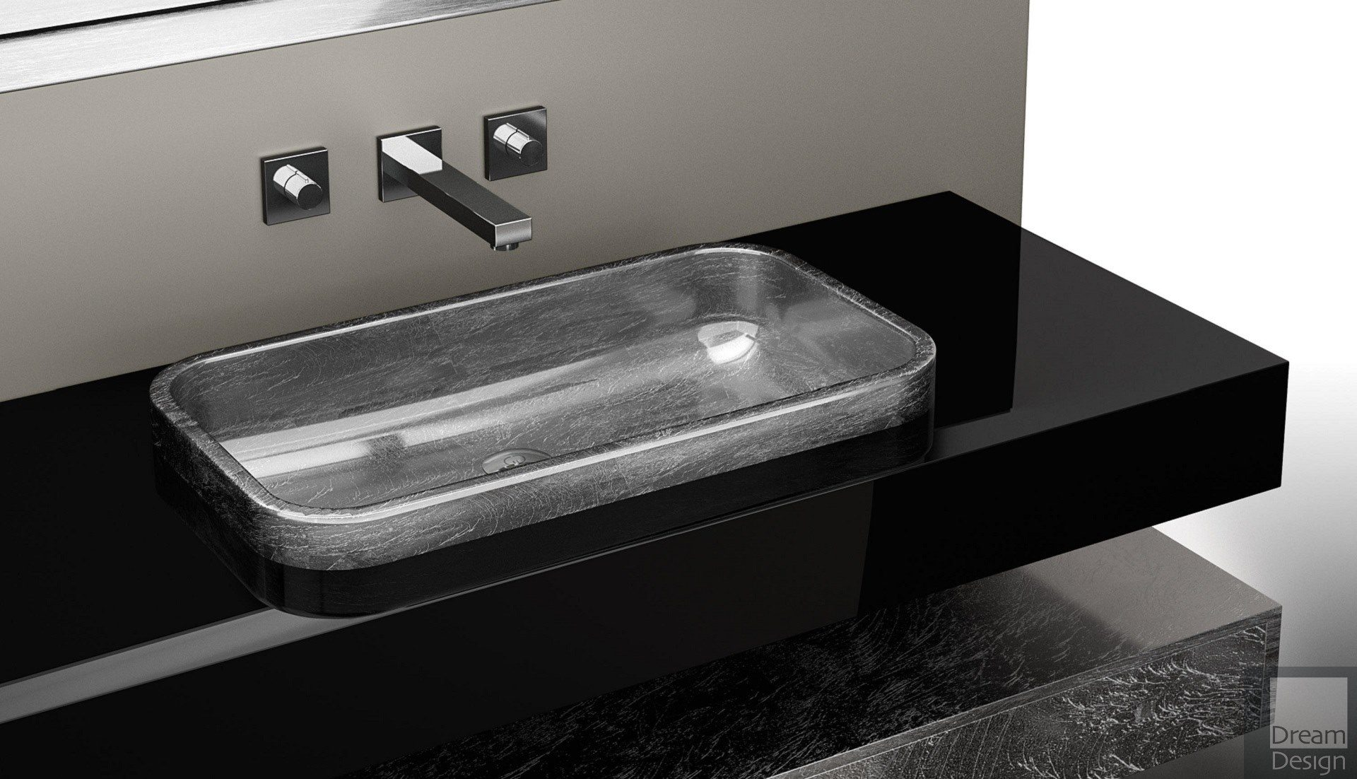 Glass Design Play FL Basin