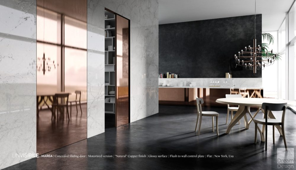 Linvisibile Marea Concealed Sliding Doors