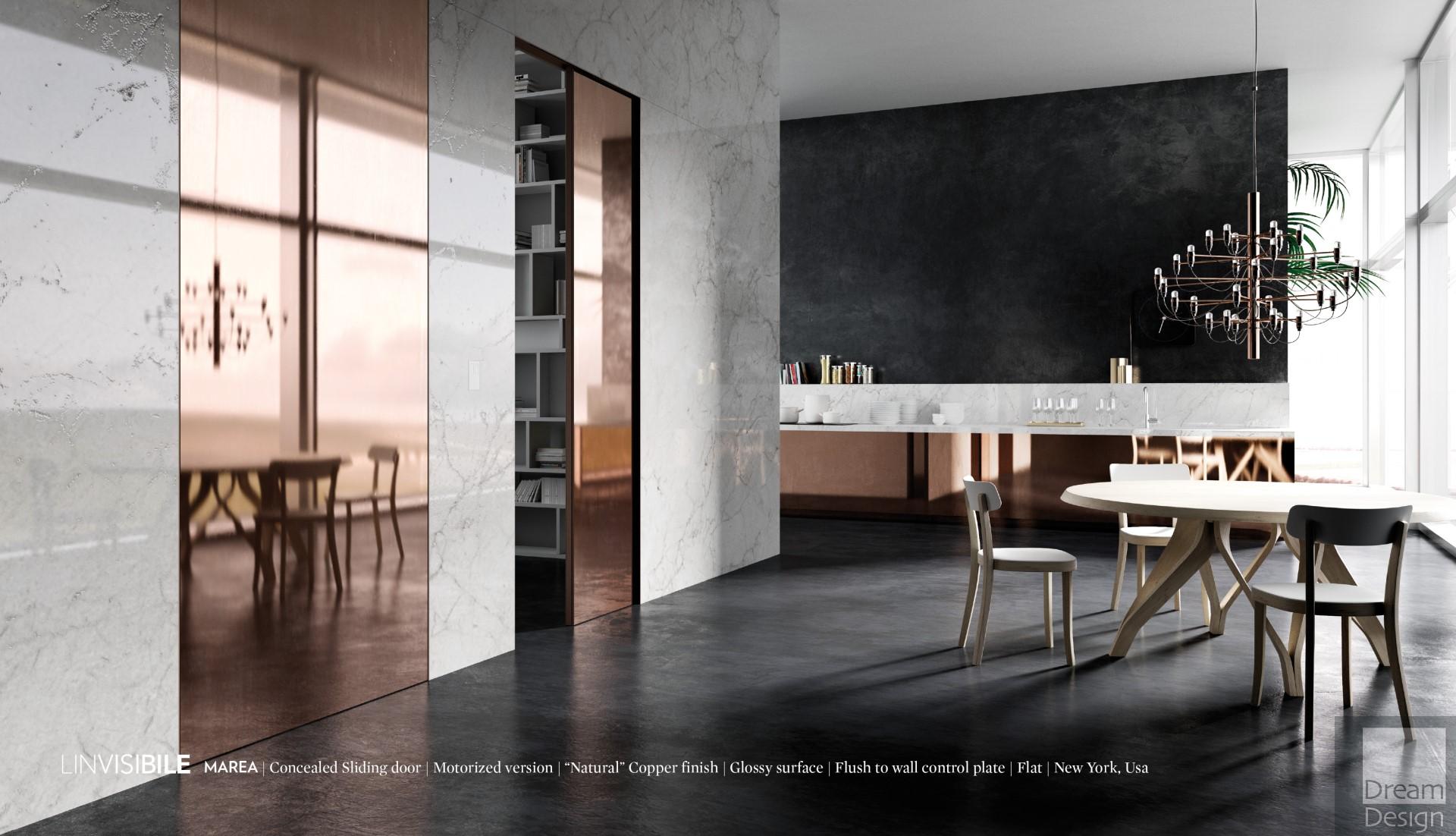linvisibile marea concealed sliding doors dream design interiors ltd