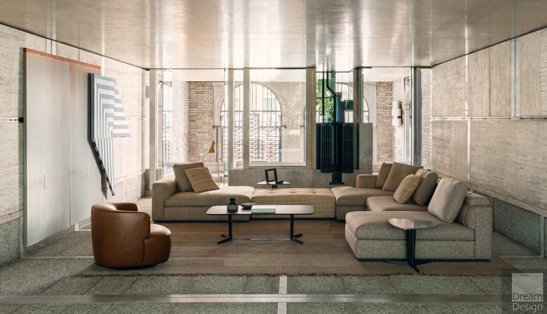 Molteni&C Albert Modular Sofa