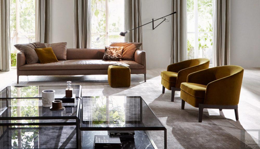Molteni&C Chelsea Small Armchair