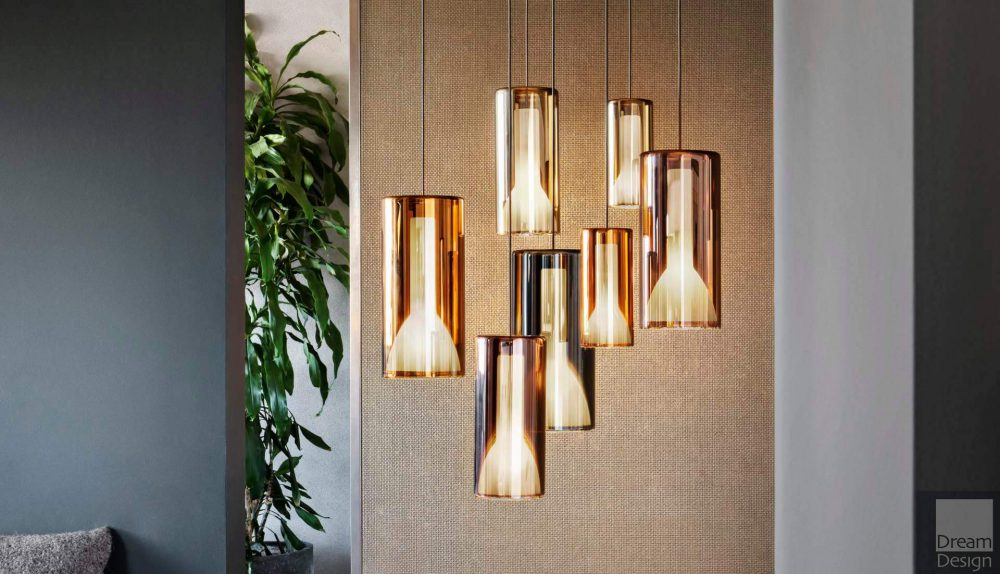 Penta Lit Pendant Light