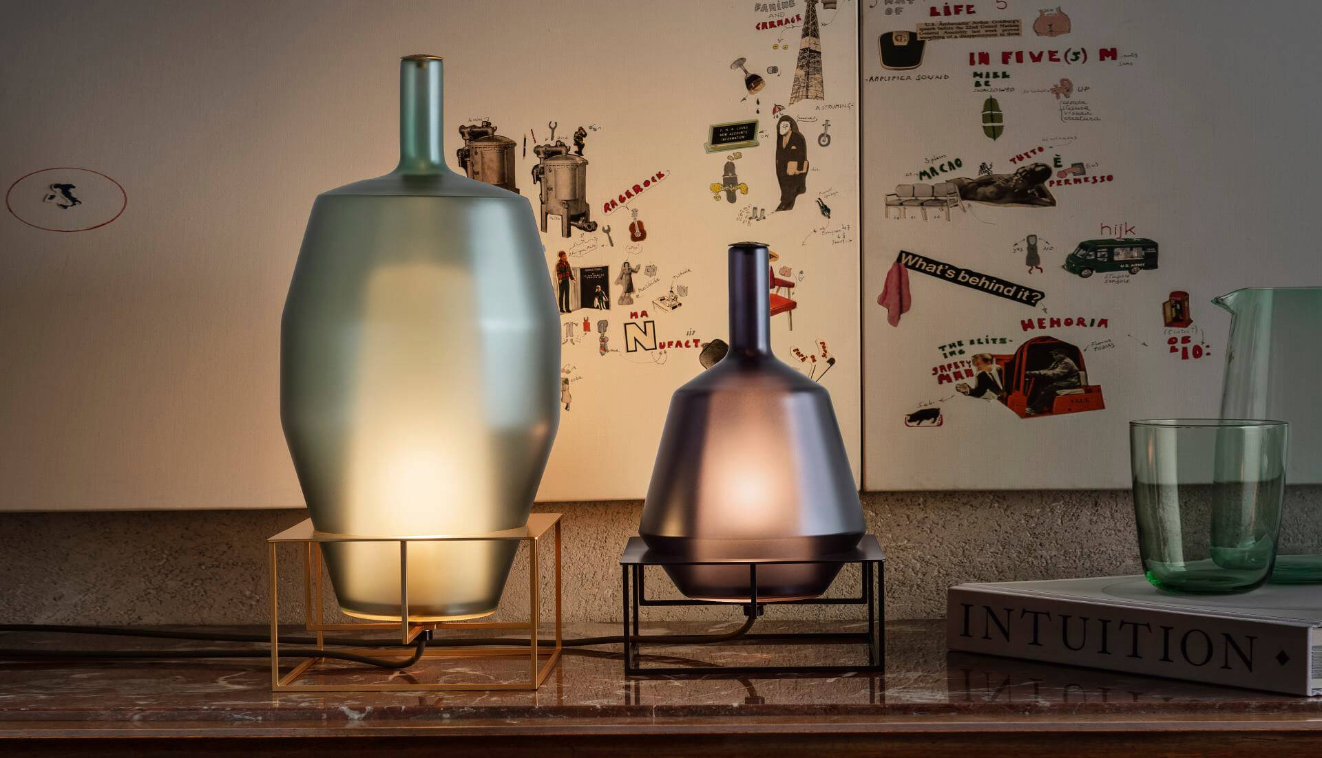 Penta Stand Table Lamp