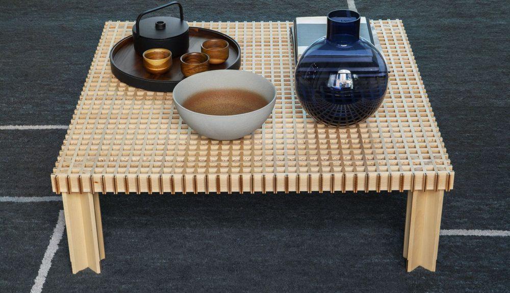 Poltrona Frau Kyoto Side Table