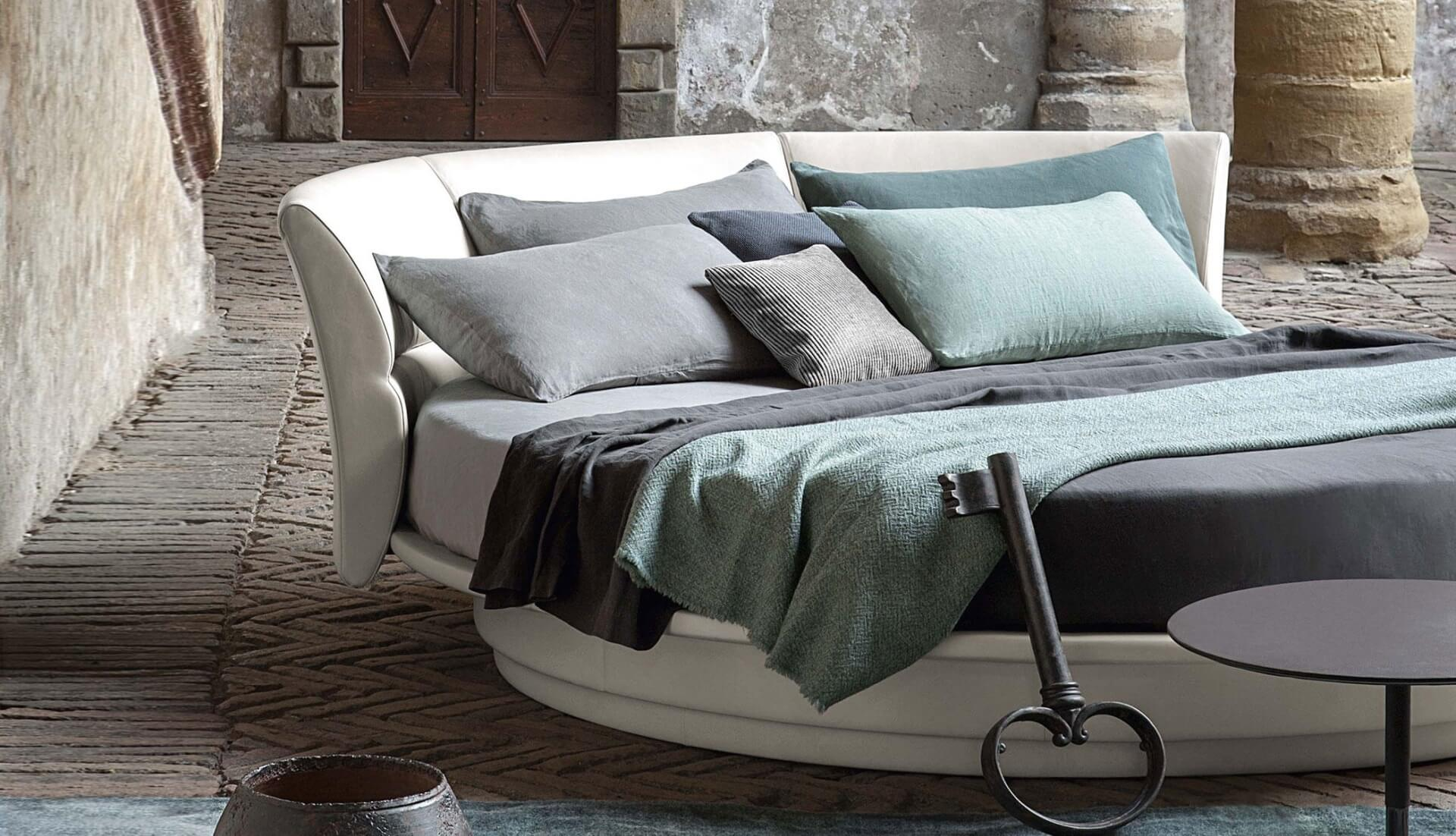 Poltrona Frau Lullaby Due Round Bed