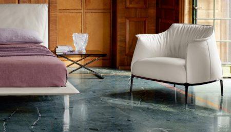 Poltrona Frau Fitzgerald Chair - Dream Design Interiors Ltd