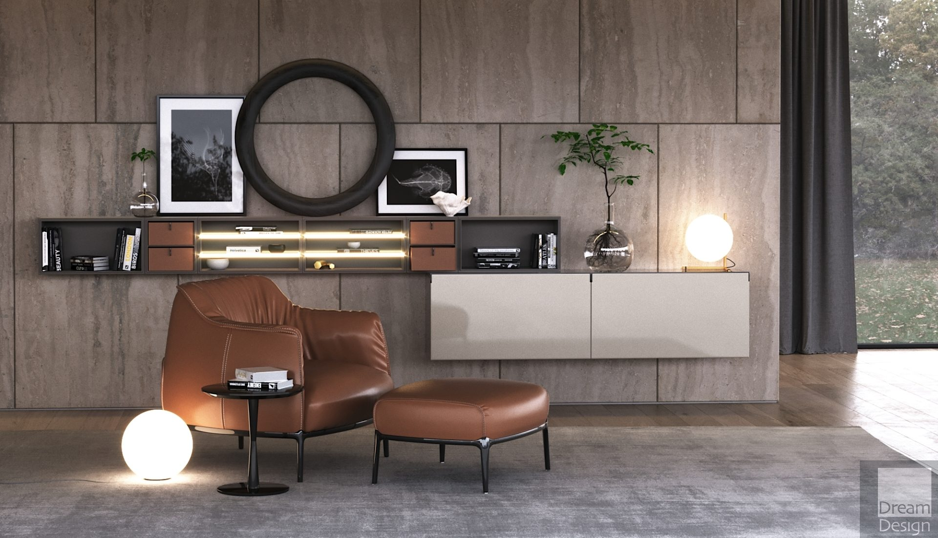 Poltrona Frau Archibald Armchair - Dream Design Interiors Ltd