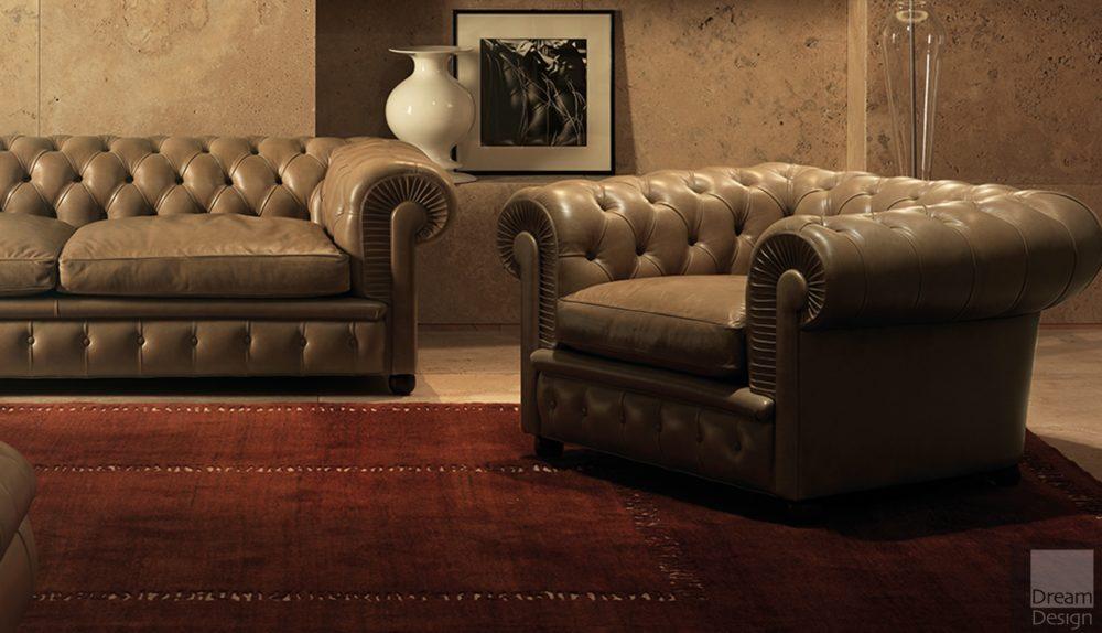 Poltrona Frau Chester One Armchair